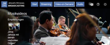 JW Broadcasting Website